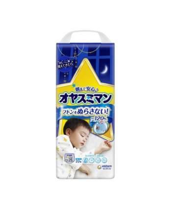 Трусики-подгузники Moony для мальчиков, ночные, размер XXL, от 13 до 28 кг, 22 шт,