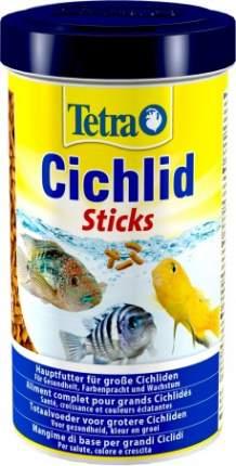 Корм для всех видов цихлид Tetra Cichlid Sticks, палочки, 1 л