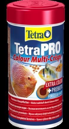 Корм для декоративных рыб Tetra PRO Colour, для улучшения окраса, чипсы, 500 мл