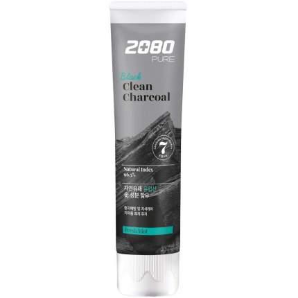 Зубная паста Kerasys, Dental Clinic 2080 Уголь Мята, 120 гр