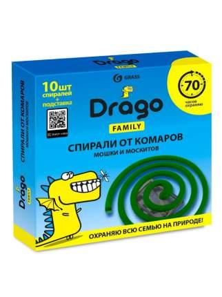 Спираль от комаров Grass Drago 10 шт.