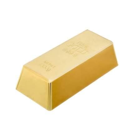 Стопор для дверей, VORTEX, Золотой слиток, 16,5х8х4,5см