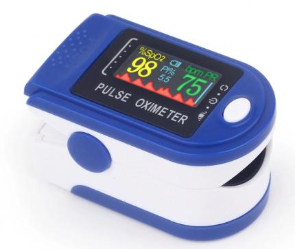 Пульсоксиметр PULSE OXIMETER на палец для измерения уровня кислорода и пульса