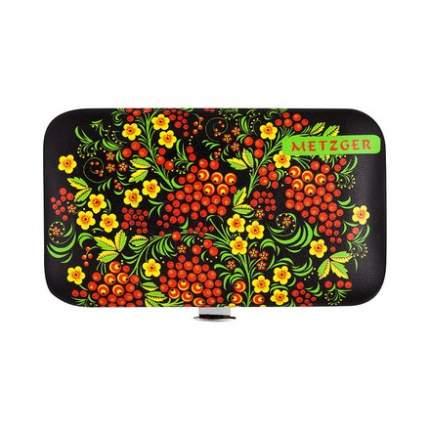 Маникюрный набор Metzger, Черный с красными ягодами