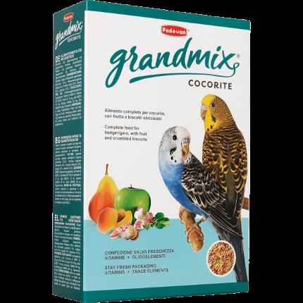 Основной корм Padovan для волнистых попугаев 1000 г