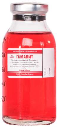 Лекарственный препарат для кошек и собак МИКРО-ПЛЮС Гамавит флакон 100мл