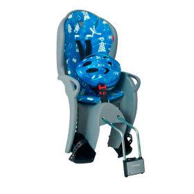 Велокресло Hamax Kiss Safety Package серый/синий
