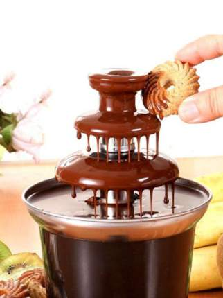 Шоколадный фонтан Chocolate Fondue Fountain Mini KEYA