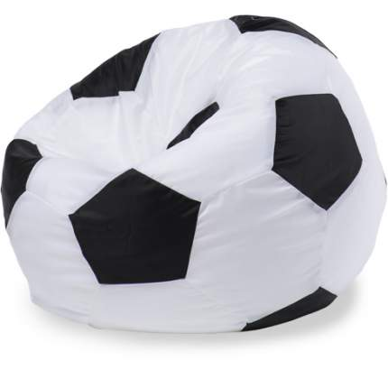 Комплект чехлов Кресло-мешок мяч  XL, Оксфорд Белый и черный