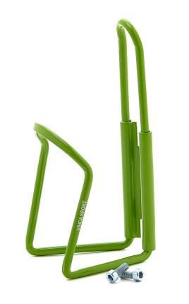 Флягодержатель алюминиевый в комплекте с болтами, зеленый
