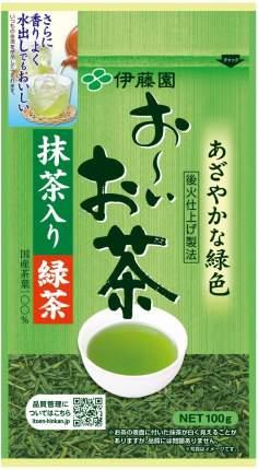 Itoen Ойоча Зеленый пропаренный чай, 100г.