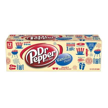 Газированный напиток Dr.Pepper  Vanilla Float 12 шт по 0,355 л (США)