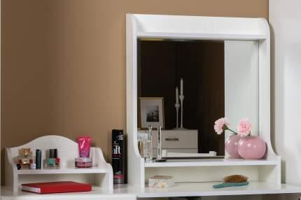 Зеркало настольное с полками Mobi Ливерпуль 10.118 белый, 60х20х70 см
