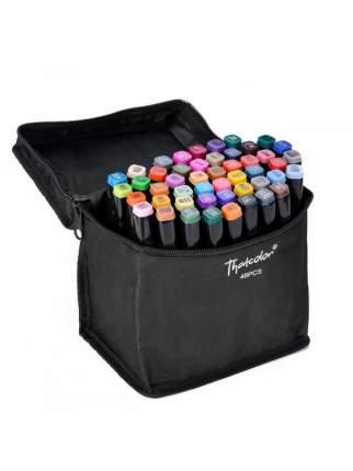 Оригинальные маркеры для скетчинга двусторонние 48 цветов