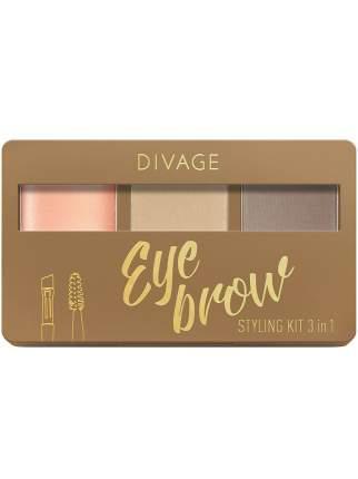 Набор для бровей Divage  Eyebrow Styling New тон № 01