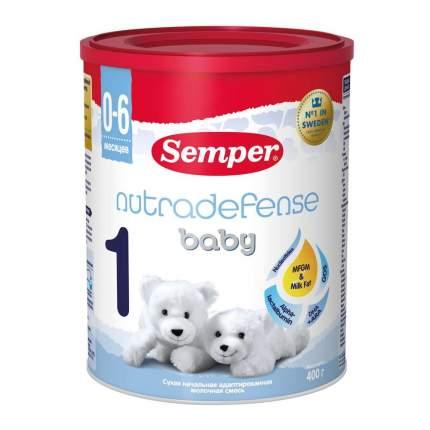 Молочная смесь Semper Baby Nutradefense от 0 до 6 мес. 400 г