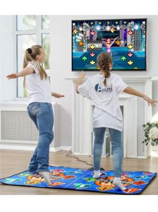 Танцевальный коврик для двоих ASPEL Dance Perfomance II ТВ/ПК (16 бит)
