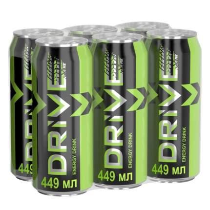 Энергетический напиток Drive Me  6 шт по 0.449 л