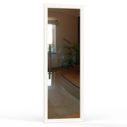 Зеркало навесное Ливерпуль 03.242 ясень ваниль, 50х2х140 см