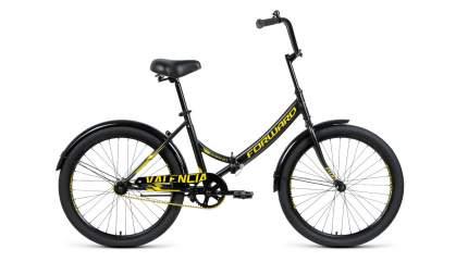 Forward Велосипед Складные Valencia 24 X, год 2021  , цвет Черный, Желтый