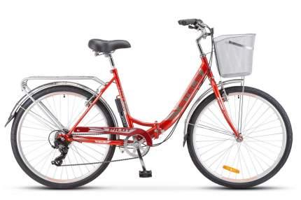 Stels Велосипед Складные Pilot 850 26 Z010, год 2021  , ростовка 19, цвет Красный