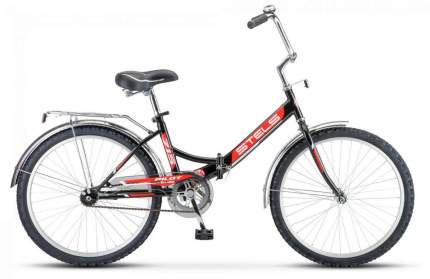 Stels Велосипед Navigator 340 28 Z010, 2021, ростовка 16, Черный, Красный