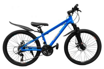 Altair Велосипед Подростковые 24 Disc, год 2021  , ростовка 11.5, цвет Синий, Оранжевый