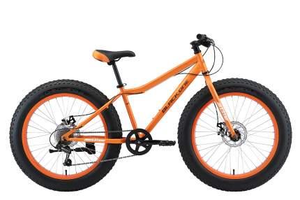 Black-one Велосипед Black One Monster 24 D, 2021, Оранжевый, Серебристый
