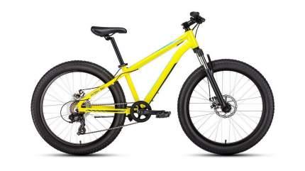 Forward Велосипед Подростковые Bizon Mini 24, год 2021  , ростовка 13, цвет Желтый