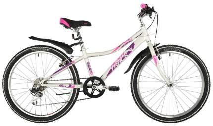 Novatrack Велосипед Подростковые Alice 24, год 2021  , ростовка 10, цвет Белый