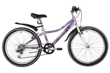 Novatrack Велосипед Подростковые Alice 24, год 2021  , ростовка 10, цвет Фиолетовый