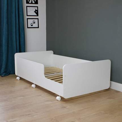Кровать подростковая PITUSO MATEO белая, 164,2х88,2х50 см
