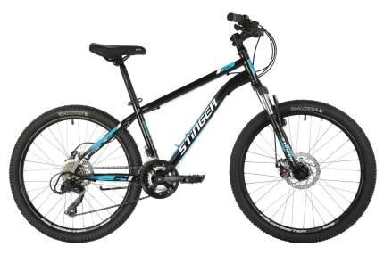 Stinger Велосипед Caiman 24 D Microshift, 2021, ростовка 12, Черный