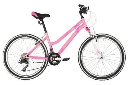 Stinger Велосипед Подростковые Latina 24 Microshift, год 2021  , ростовка 14, цвет Розовый