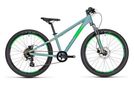 Cube Велосипед Подростковые Acid 240 Disc, год 2021  , цвет Серебристый, Зеленый