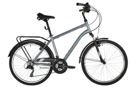 Stinger Велосипед Traffic 26 Microshift, 2021, ростовка 18, Серебристый
