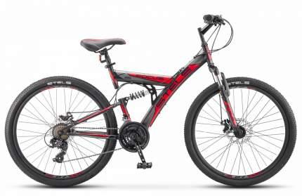 Stels Велосипед Focus MD 26 21 sp V010, 2020, ростовка 18, Черный, Красный