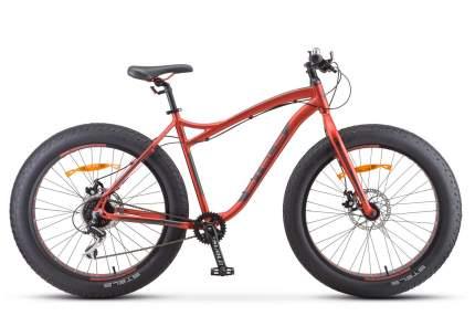 Stels Велосипед Aggressor MD 26 V010, 2020, ростовка 18, Красный, Серебристый