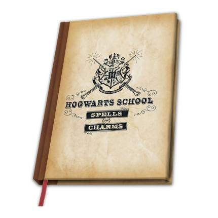 Записная книжка Гарри Поттер - Школа Хогвартса 180 стр.