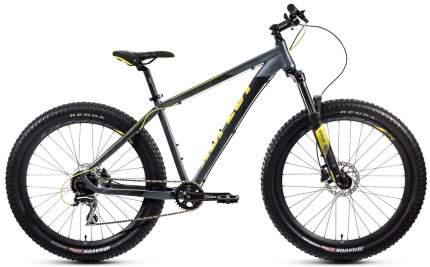 Aspect Велосипед Горные Force, год 2021  , ростовка 18, цвет Серебристый, Желтый