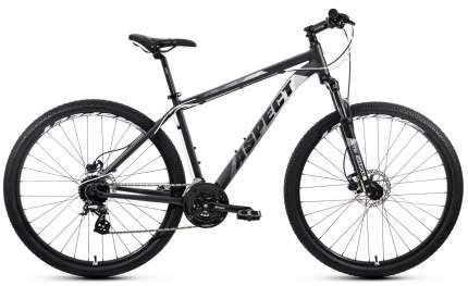 Aspect Велосипед Горные Nickel 29, год 2021  , ростовка 20, цвет Серебристый, Белый