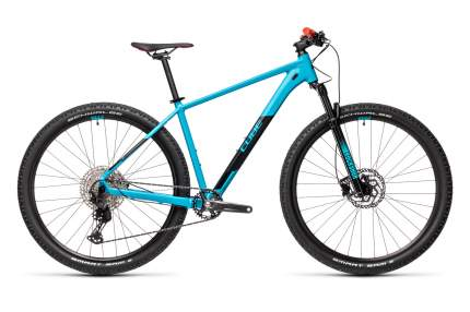 Cube Велосипед Горные Attention SL 29, год 2021  , ростовка 17, цвет Синий, Красный