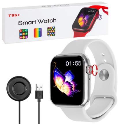 Умные смарт-часы T55+ Smart Watch Series 6 (Белый)