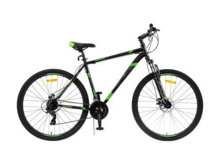 Stels Велосипед Navigator 900 MD 29 F010, 2019, ростовка 19, Черный, Зеленый