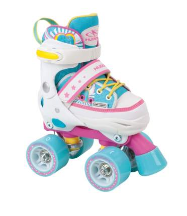 HUDORA Ролики Skate Wonders 28-31 Розовый Голубой (22036)