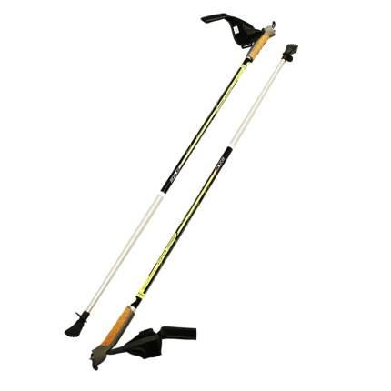 Палки для скандинавской ходьбы STC Athletic 60/40 гибрид этикетка 125
