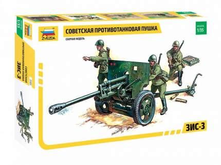 Сборная модель ZVEZDA Советская противотанковая пушка ЗИС-3 1:35