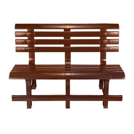 Садовая скамейка Стандарт Пластик СТПЛГР.ДЗ000144862.0000000004 Групп №2 Шоколадный