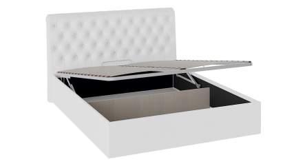 Кровать с мягким изголовьем и подъемным механизмом Трия «Скарлет»