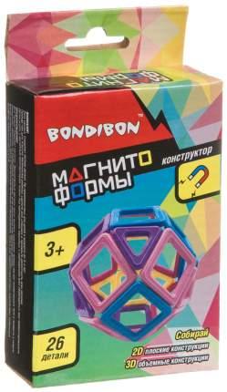 Магнитный конструктор Bondibon Магнитоформы ВВ4408 26 деталей